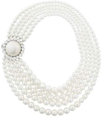 Miu Miu embellished layered necklace