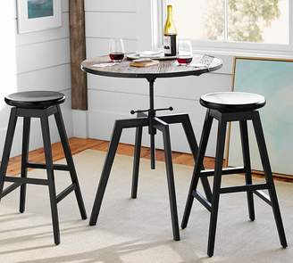 Pottery Barn Blaine Reclaimed Wood Adjustable Bar Height Table