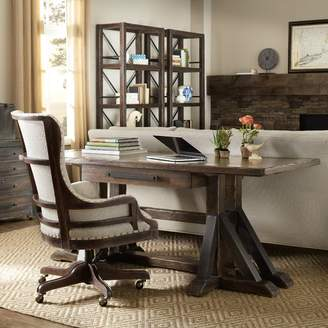 Hooker Furniture Roslyn County Trestle Writing Desk and Chair Set