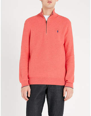 Polo Ralph Lauren Logo-embroidered cotton jumper