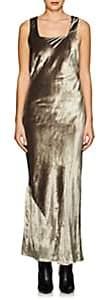 Nomia Women's Velvet Bias-Cut Gown - Lt. Green