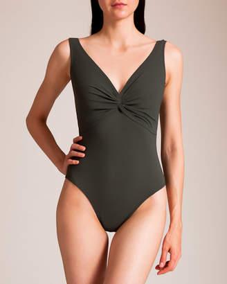 Karla Colletto Basic Twist D+ Swimsuit