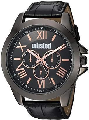 UNLISTED WATCHES Men's 'Dress Sport' Quartz Metal Casual Watch