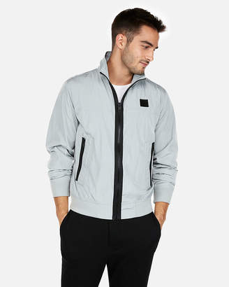 Express Nylon Exp Patch Water Resistant Bomber Jacket