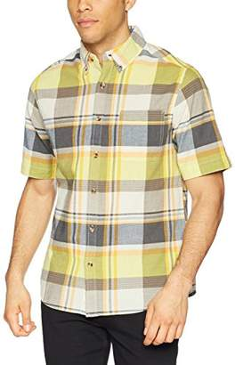 Woolrich Men's Timberline Short Sleeve Modern Fit Shirt
