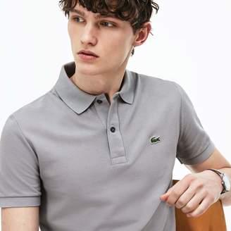 Lacoste Men's Slim fit Polo Shirt in petit pique