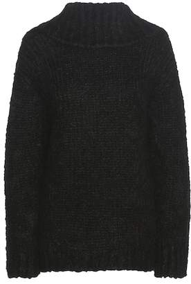 Tom Ford Mohair and wool-blend off-the-shoulder sweater