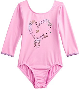 Danskin Girls 4-14 JoJo Siwa Heart Dance Leotard