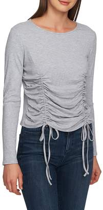 1 STATE 1.STATE Drawstring Ruched Top