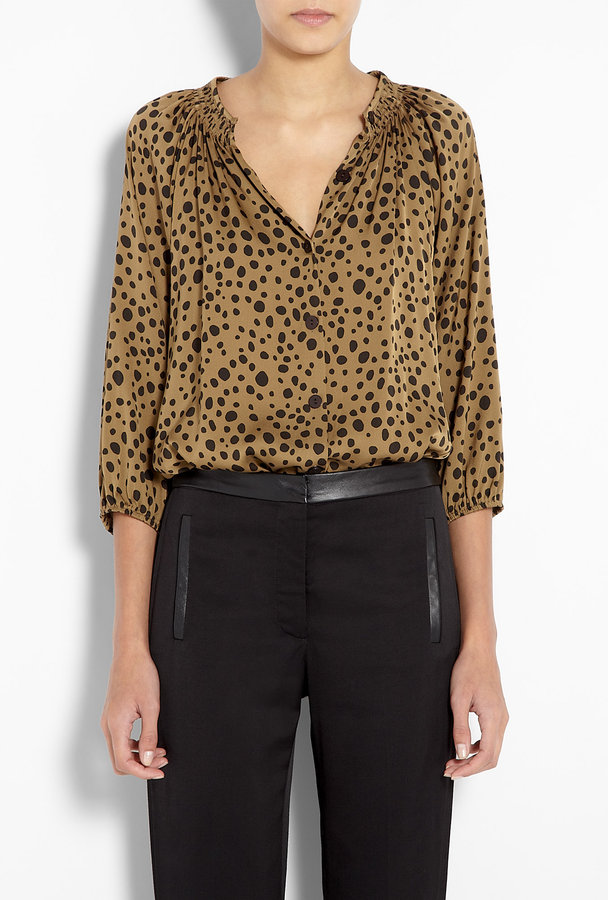 Tucker River Bank Brown The Classic Blouse