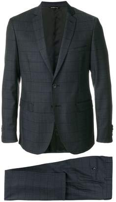 Tonello Claudio grid stitched two piece suit