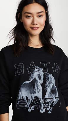 Baja East Freedom Crew Sweatshirt