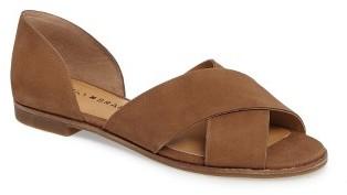 Women's Lucky Brand Gallah Crisscross Flat Sandal $78.95 thestylecure.com