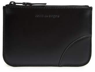 Comme des Garcons Very Black Leather Line Wallet
