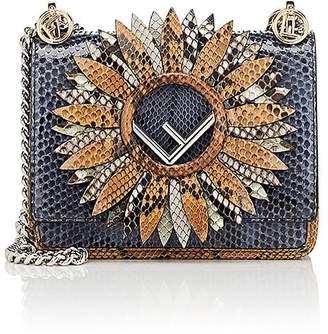 Fendi Women's Kan I Python Mini Shoulder Bag