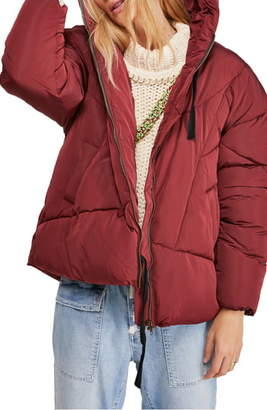 Free People Hailey Hooded Puffer Jacket