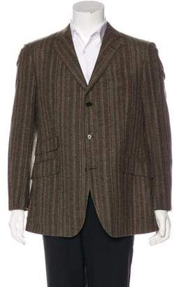 Etro Striped Wool Blazer