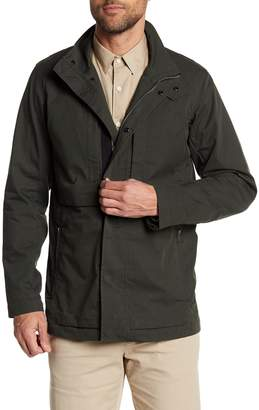 Theory Stand Up Collar Pocketed Jacket