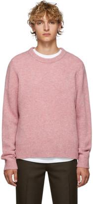 Acne Studios Pink Wool Kai Sweater