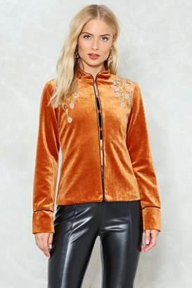 Nasty Gal Charlie's Angel Velvet Jacket