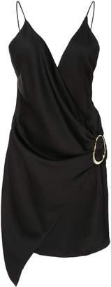Cushnie et Ochs Slate Draped Dress