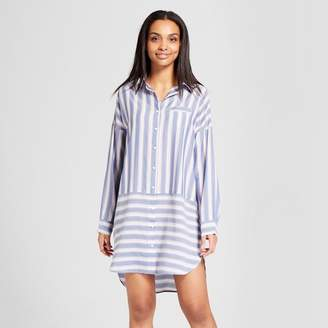 Gilligan & O'Malley Women's Nightgown Blue Willow