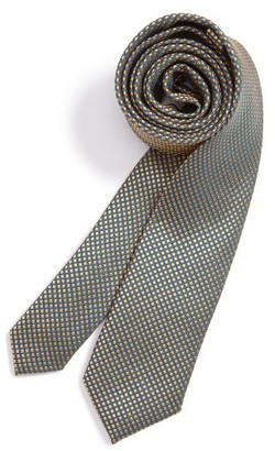 Boy's Michael Kors Stripe Silk Tie $36 thestylecure.com