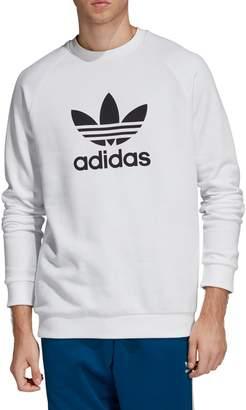 adidas Adicolour Warm-Up Trefoil French Terry Sweatshirt
