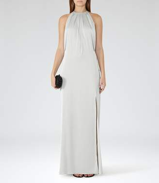 Reiss Elouise Satin Maxi Dress