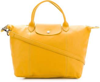 Longchamp foldover top tote bag