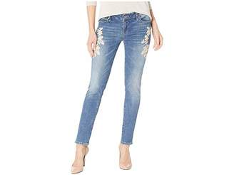 Lucky Brand Lolita Skinny w/ Embroidery Jeans in Avon