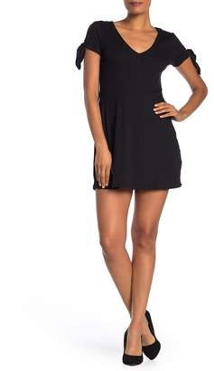 Cotton On Sadie Tie Sleeve Fit & Flare Mini Dress