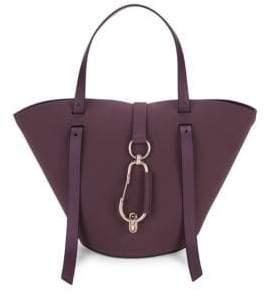 Zac Posen Belay Small Hobo Leather Handbag