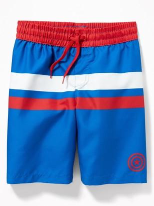 Old Navy Licensed Pop-Culture Swim Trunks for Boys
