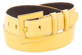 Oscar de la Renta Soft Leather Belt
