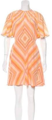 Valentino 2016 Native Couture 1975 Mini Dress w/ Tags