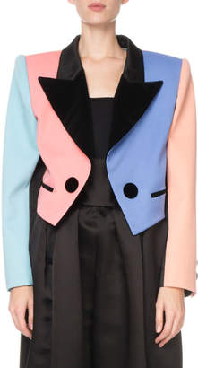Marc Jacobs Colorblock Cropped Blazer