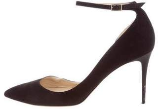 Jimmy Choo Lucy 100 Suede Pumps