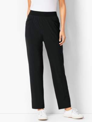 Talbots Jersey-Lined Pants