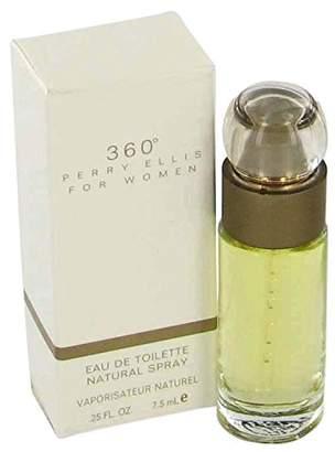 Perry Ellis 360 Perfume By 0.25 oz Mini EDT Spray (without Cap) FOR WOMEN