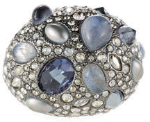 Alexis Bittar Stone Cluster Pave Cocktail Ring, Size 6