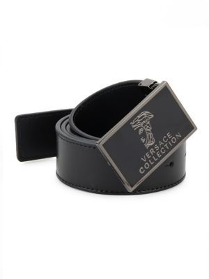Logo-Accented Leather Belt $295 thestylecure.com