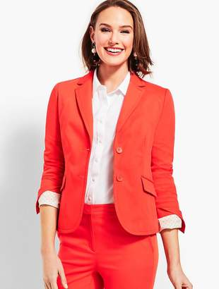 Talbots Twill Cambridge Blazer