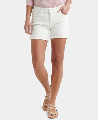Lucky Brand Ave White Denim Shorts