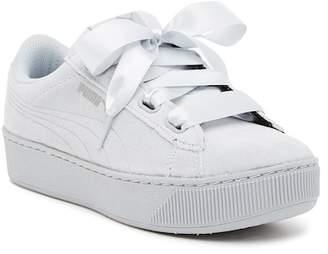 Puma Vikky Ribbon Platform Sneaker