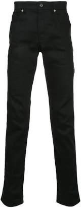 System zip detail skinny jeans
