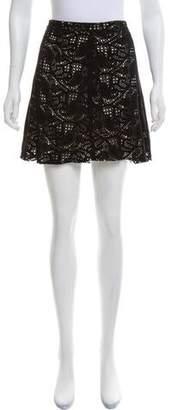 Haute Hippie Suede Mini Skirt w/ Tags