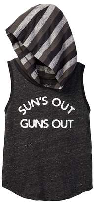 Million Polkadots Sun's Out Guns Out Hooded Tank Tee (Baby, Toddler, & Little Boys)