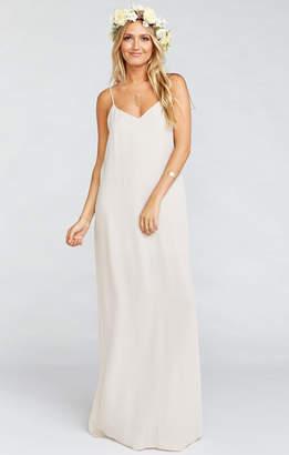 Show Me Your Mumu Jolie Maxi Dress ~ Show Me the Ring Crisp