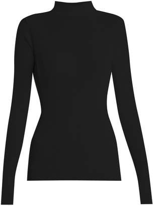 Simone Rocha Roll-neck ribbed-knit sweater